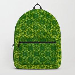 D20 Druid Ranger Crit Pattern Premium Backpack