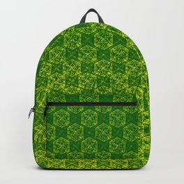 D20 Druid Ranger Crit Pattern Premium Backpack