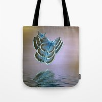 bug Tote Bags featuring Bug by Shalisa Photography