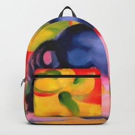 """Franz Marc """"Little Blue Horse"""" Backpack"""
