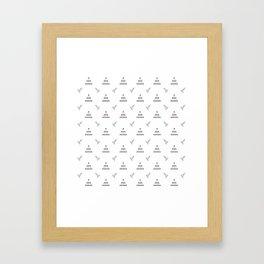 Chistmas Tree Framed Art Print