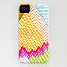 Isometric Harlequin #6 iPhone (4, 4s) Slim Case