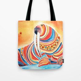 Tiger Of The North Tote Bag