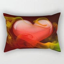 Heartbeat II Rectangular Pillow