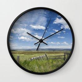French Glen View Wall Clock