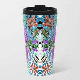 Symmetrical Mouse (-35) Travel Mug