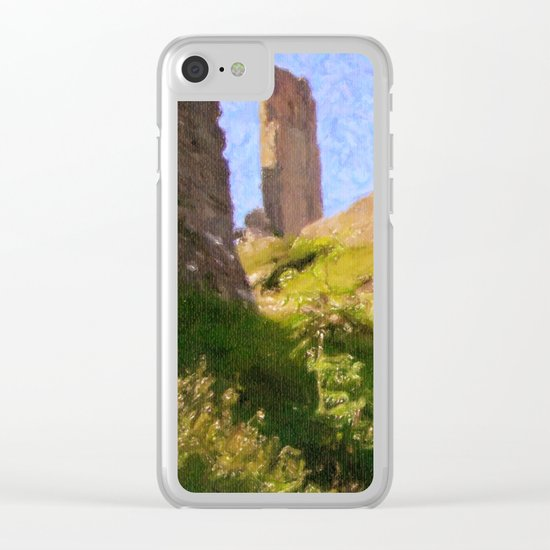 Corfe Castle Clear iPhone Case