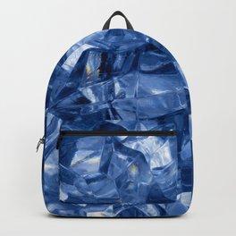 Crushed ice background Backpack