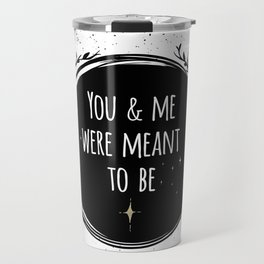 LOVE - You & me were meant to be by Lo Lah Studio Travel Mug