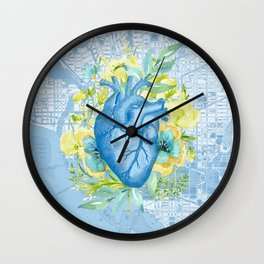 The Way to Her Heart Wall Clock