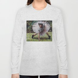 Ace Ventura - Blue 42! - Jim Carey in a Tutu Long Sleeve T-shirt