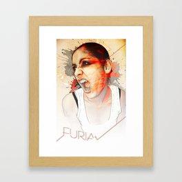 Furia Framed Art Print