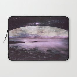 Mystic Lake Lavender Laptop Sleeve