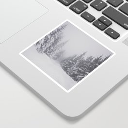 Winter walk - Landscape and Nature Photography Sticker