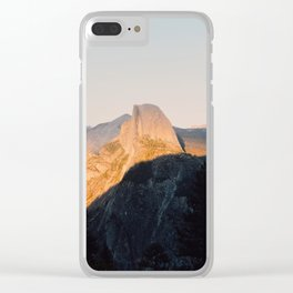 Light on Half Dome Clear iPhone Case