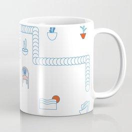 Casa de playa Coffee Mug