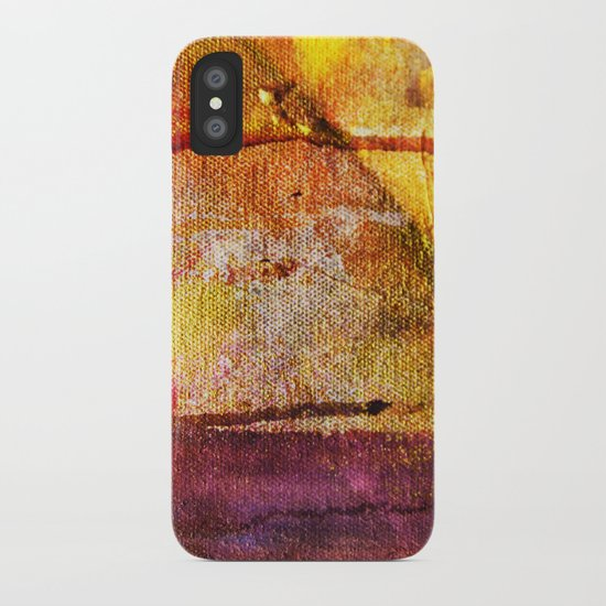 Refined by Fire iPhone Case