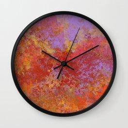 Autumn Serenity Wall Clock