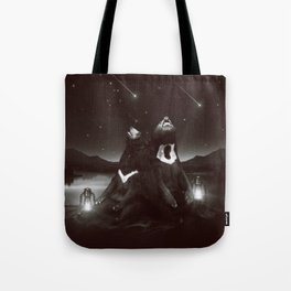 my sun, my moon, and all my stars Tote Bag