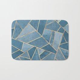 Dusk Blue Stone Bath Mat