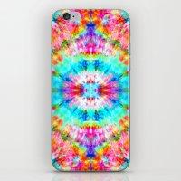 Rainbow Sunburst iPhone & iPod Skin