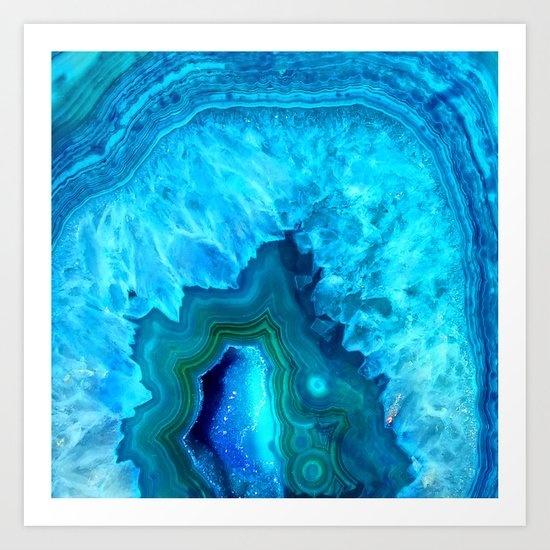 Crystal beauty Art Print