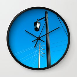 #ABSTRACT VIEW @KEY WEST USA by Jay Hops Wall Clock
