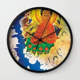 Sun Wukong Confronts Buddha Wall Clock