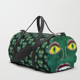 Scary Face (Mask) Duffle Bag