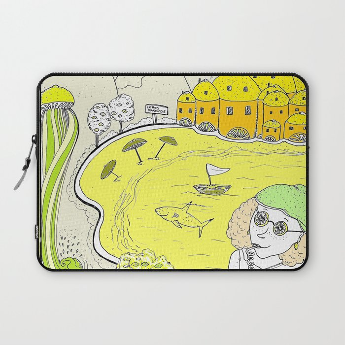 Lemon paradise Laptop Sleeve