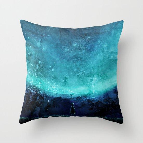 Sky of Wonder Throw Pillow
