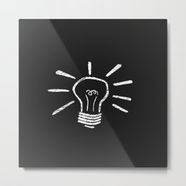 Lightbulb Moment Metal Print