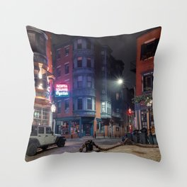 North Square Oyster 1 Throw Pillow