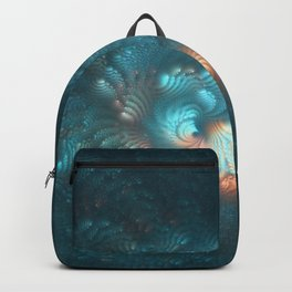 Winter Flower Full Size Backpack