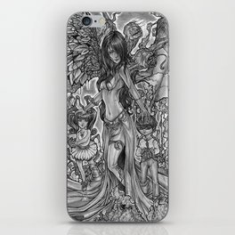 Devourer of Angels iPhone Skin