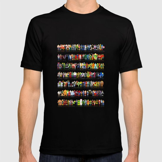 PixelWorld vol. 1 | All roster T-shirt