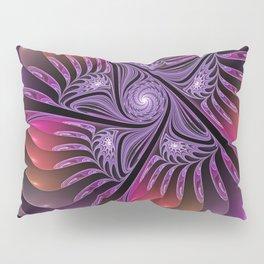 Colorful Fantasy, Abstract Fractal Art Pillow Sham