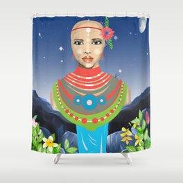 Maasai Shower Curtain