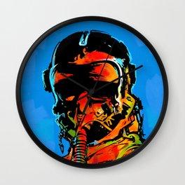 Fghter Pilot Wall Clock