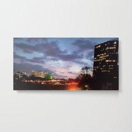 Atlanta at night Metal Print