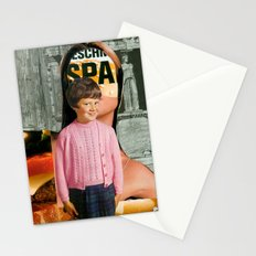 Check Your Head (collaboration with the amazing Peter Campbell)  Stationery Cards