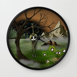Polished Chaos Wall Clock