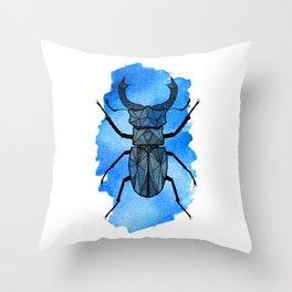 Blå Ekoxe Throw Pillow