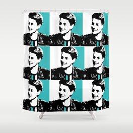 jace norman pop art Shower Curtain