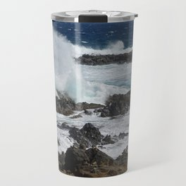 Caribbean wave Travel Mug