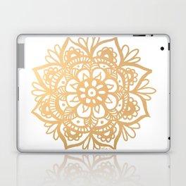 Gold Mandala Laptop & iPad Skin