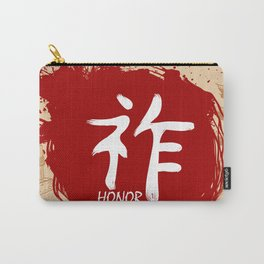Japanese kanji - Honor Carry-All Pouch