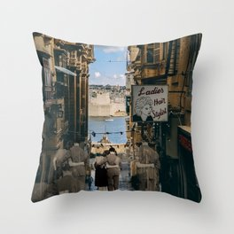Infinite Walk Throw Pillow