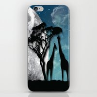african iPhone & iPod Skins featuring African Nights by Bakmann Art