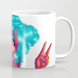 Starry Eyed Alien Girlfriends Valentines Day Gift Coffee Mug